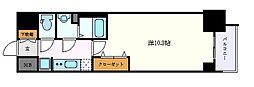 名古屋市営鶴舞線 丸の内駅 徒歩5分の賃貸マンション 7階1Kの間取り