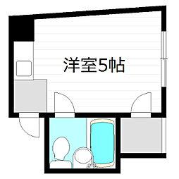 アメニティ京橋[4階]の間取り