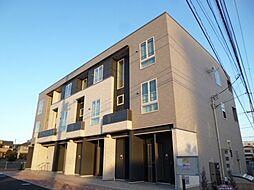 東京都羽村市小作台3丁目の賃貸アパートの外観