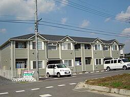 埼玉県日高市大字原宿の賃貸アパートの外観