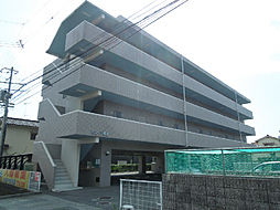 愛媛県松山市桑原1丁目の賃貸マンションの外観