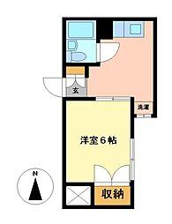 チサンマンション広小路[4階]の間取り
