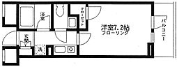 東京都港区赤坂6丁目の賃貸マンションの間取り