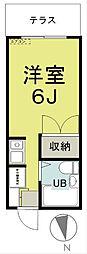 舞岡ハイツII[102号室]の間取り