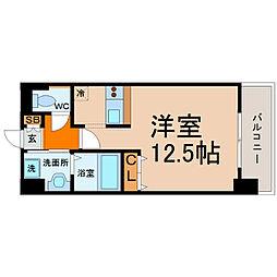 愛知県名古屋市中村区則武本通3丁目の賃貸マンションの間取り
