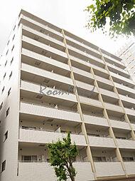 神奈川県横浜市港北区新横浜の賃貸マンションの外観