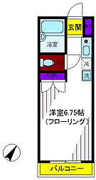 エスポワール錦[4階]の間取り
