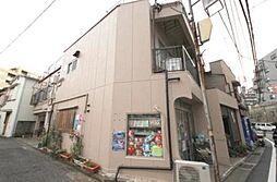 東京都新宿区若葉3丁目の賃貸マンションの外観