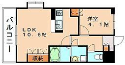 アイリスKOMODA[2階]の間取り