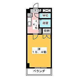 EXCELLENCE[6階]の間取り