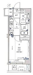 レーヴ横浜花月園前ステーションID[6階]の間取り