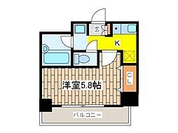 メゾン・ド・ピュア府中[8階]の間取り