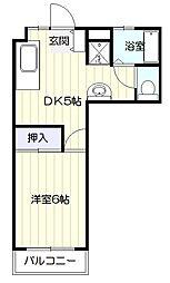 中野栄駅 3.5万円