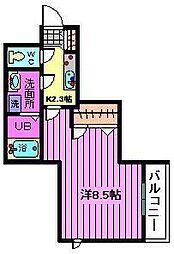 シャーメゾンU[302号室]の間取り