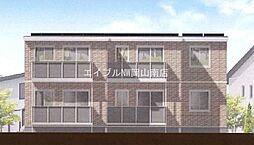 岡山県岡山市南区片岡丁目なしの賃貸アパートの外観