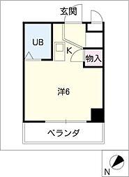月東ビル[4階]の間取り