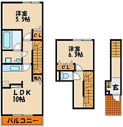 和(Nagomi)[3階]の間取り