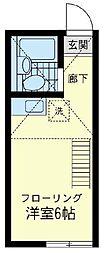 MAHALO 横浜[1階]の間取り