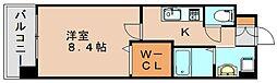 ギャラクシー県庁口[7階]の間取り
