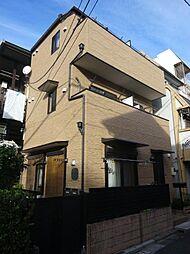東京都北区赤羽南1の賃貸アパートの外観