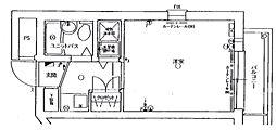 ネオディー夙川[3階]の間取り