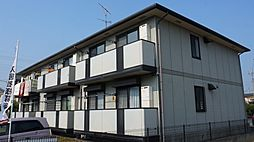 埼玉県行田市長野1丁目の賃貸アパートの外観