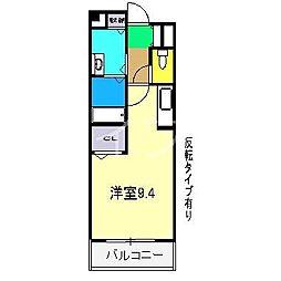 クレメントヒル[1階]の間取り