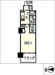 ロイヤルパークスERささしま(西棟)[12階]の間取り