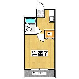さくらマンション2[3階]の間取り
