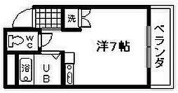 ブランシャトー久米田[303号室]の間取り