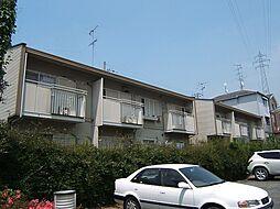 京都府城陽市平川古宮の賃貸アパートの外観