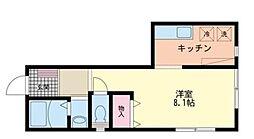 東京都杉並区堀ノ内1丁目の賃貸マンションの間取り