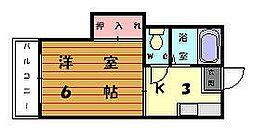 ボンフール[1階]の間取り