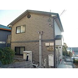 愛知県名古屋市守山区川東山の賃貸アパートの外観