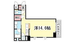 KAISEI神戸北野町[3階]の間取り