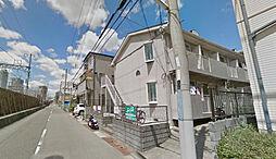 兵庫県神戸市東灘区西岡本1丁目の賃貸アパートの外観