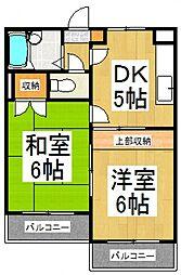 レヂオンス小川[3階]の間取り