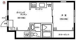 アズーロ戸田公園[104号室]の間取り