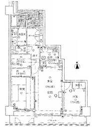 戸田公園スカイマンション[8階]の間取り