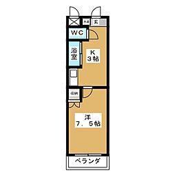 アイルーム北刈谷II[3階]の間取り