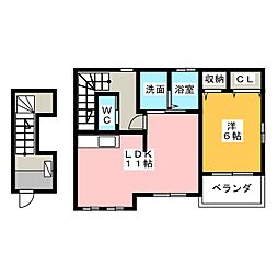 Hikari[2階]の間取り