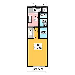 プルミエコート[2階]の間取り