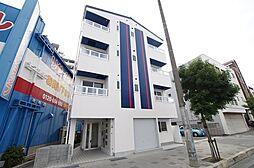 兵庫県尼崎市杭瀬本町3丁目の賃貸アパートの外観