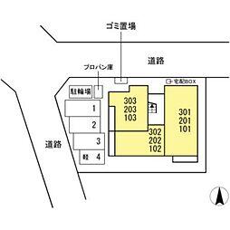 JR東海道本線 岐阜駅 徒歩9分の賃貸アパート