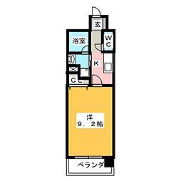 CHIKUSA AVANT-GARDE PLACE[10階]の間取り
