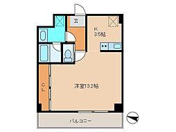 OZ-COURT[2階]の間取り