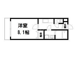 (仮称)上京区北玄蕃町共同住宅[2階]の間取り