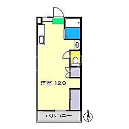 バンビーリオ[2階]の間取り