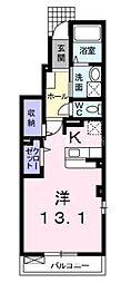 岡山県倉敷市連島町西之浦丁目なしの賃貸アパートの間取り