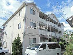 岡山県岡山市南区泉田丁目なしの賃貸アパートの外観
